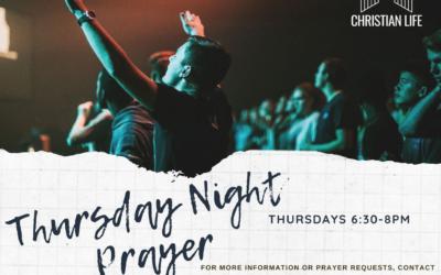 Thursday Night Prayer
